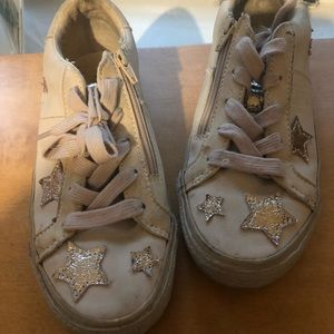 Zara star sneakers